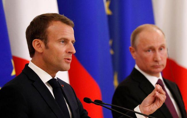 Макрон осудил действия Турции в Ливии и двойственное отношение Путина к наемникам