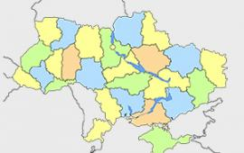 Результаты опросов по регионам Украины