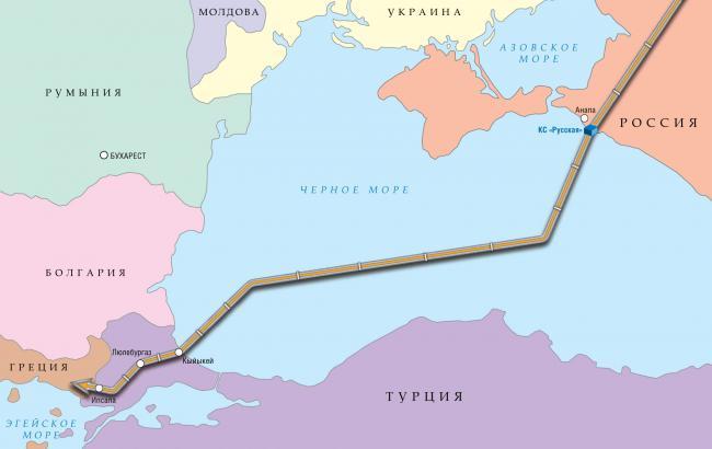 """""""Газпром"""" представит """"Турецкий"""