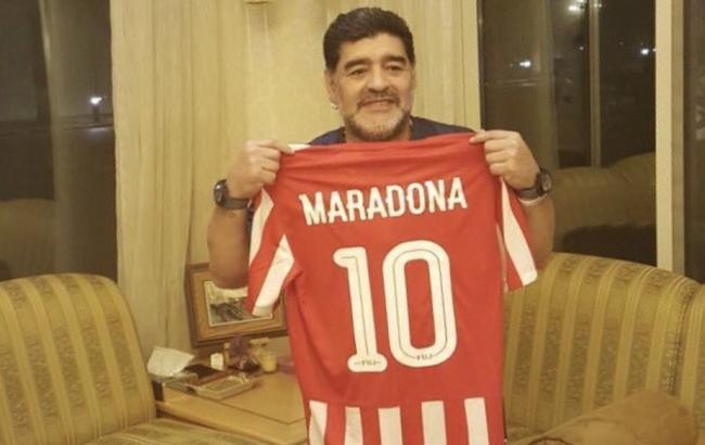 Диего Марадона— тренер «Аль-Фуджайру»