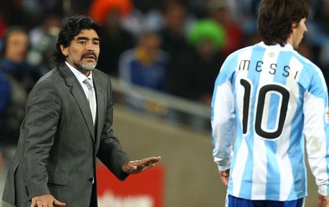 «Плюшевый мишка»: Марадона оригинально отреагировал надисквалификацию Месси