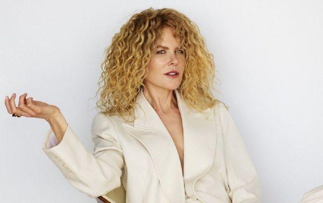 Стильная и соблазнительная: 53-летняя Николь Кидман восхитила идеальной фигурой в съемке для глянца