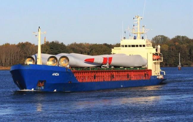 Глубина вместе крушения российского сухогруза составляет 1,5 тыс. метров