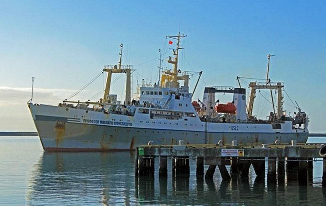 Фото: рыболовецкий корабль (marinetraffic.com)