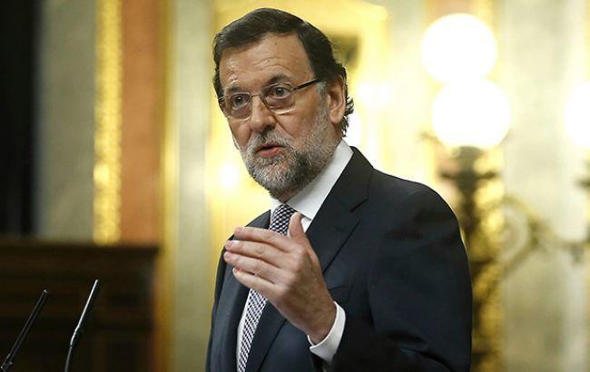 Парламент Испании отказал вдоверии правительству Мариано Рахоя