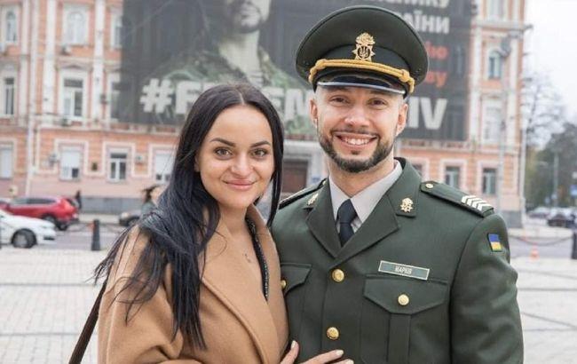Освобожденный нацгвардеец Маркив впервые стал отцом: фото ребенка