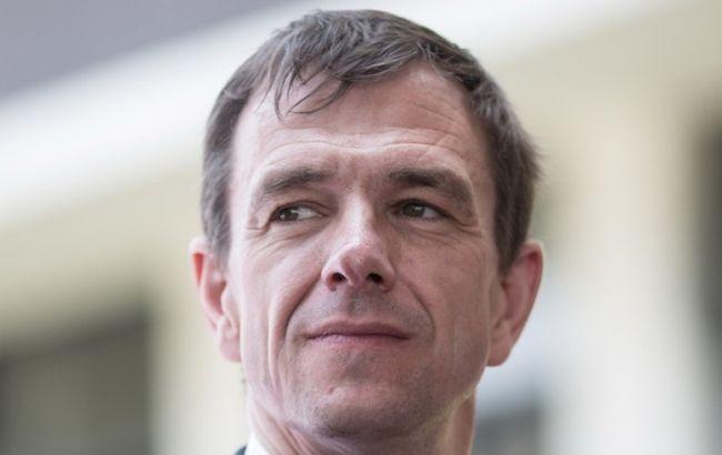 Фото: официальный представитель МИД Германии Мартин Шефер