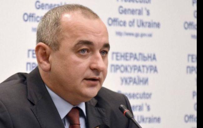 Фото: головний військовий прокурор України Анатолій Матіос