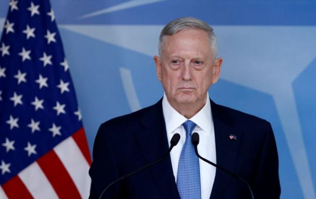 Фото: министр обороны США Джеймс Мэттис
