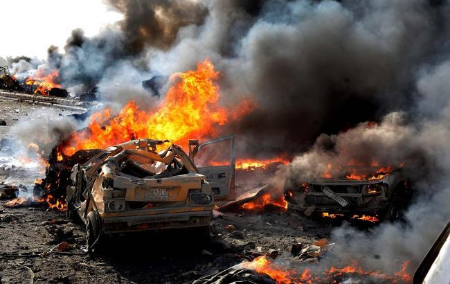 Фото: теракт в Хомсе