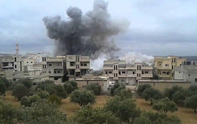 Фото: атаки по провінції Ідліб