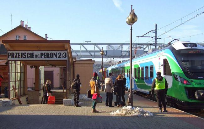 Фото: інцидент стався в районі залізничного вокзалу Жешува