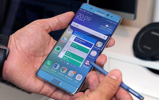 Фото: Samsung планує відновити продаж Galaxy Note 7