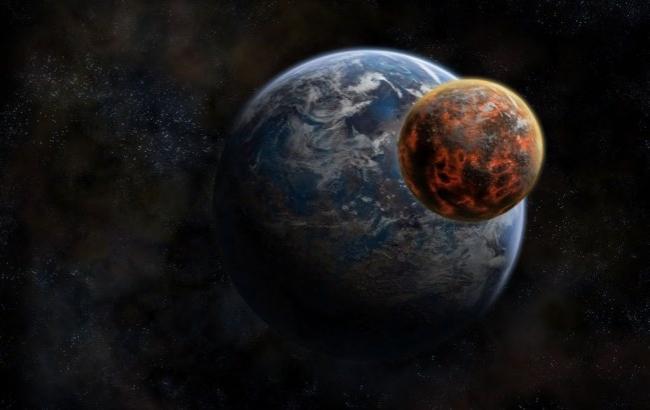 Фото: Марс может столкнуться с Землей