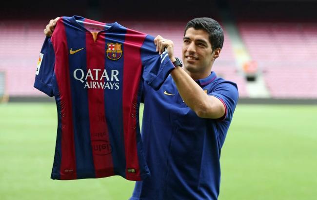 "Нападающий ""Барселоны"" Суарес пропустит месяц из-за травмы"