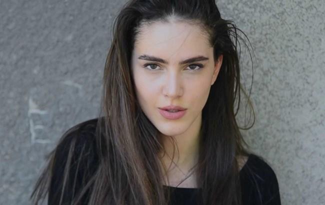 17-летняя грузинская модель стала новым лицом Armani