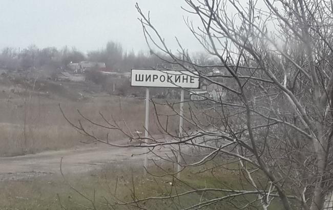 Широкино за сутки обстреляно боевиками 6 раз, - оборона Мариуполя