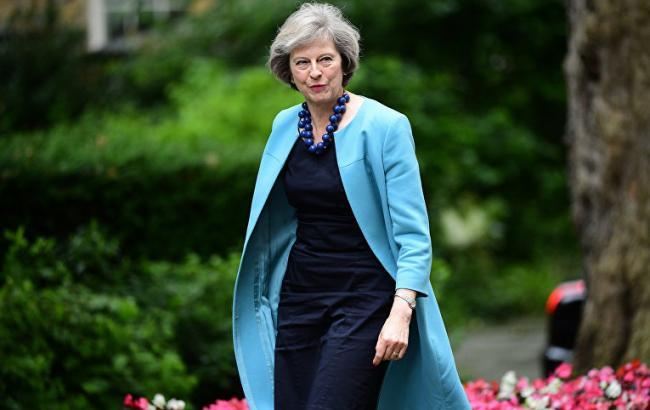 Фото: премьер-министр Великобритании Тереза Мэй