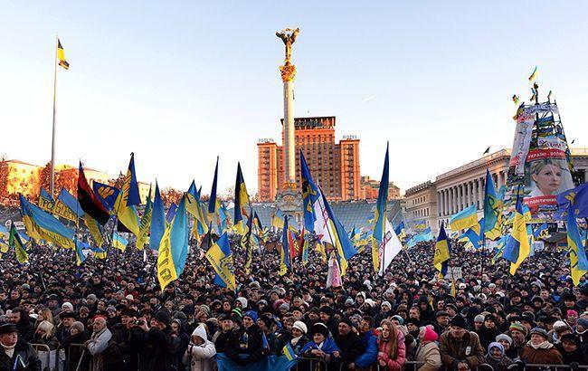 Полиция впонедельник перекроет Крещатик из-за массовых акций