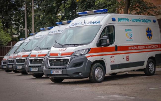 Фото: автомобили скорой помощи в Днепре (из открытых источников)