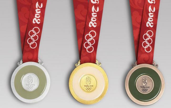 Фото: Медали Олимпийских игр в Пекине-2012 (megabook.ru)