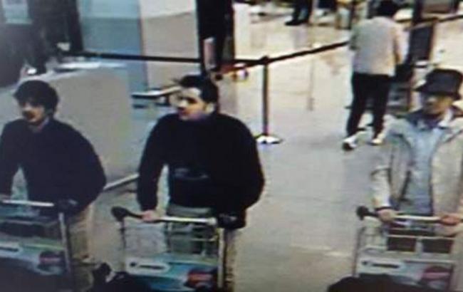 Опубликовано фото подозреваемых в совершении терактов в Бельгии