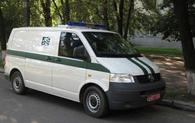 В Киеве вчера было совершено нападение на инкассаторский автомобиль