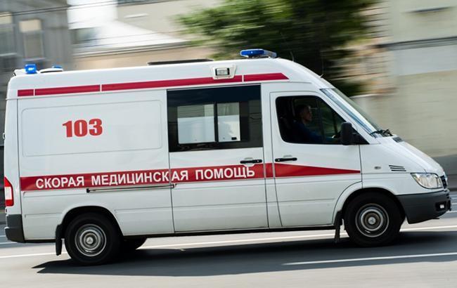 В Донецкой области водитель сбил трех школьников