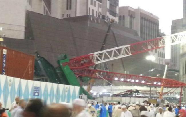 Фото (Twitter @Saudiwoman): трагедия в Мекке