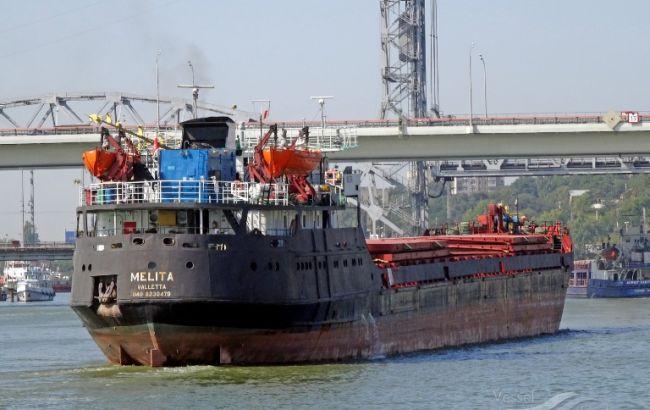 Суховантаж РФ увійшов у територіальні води України