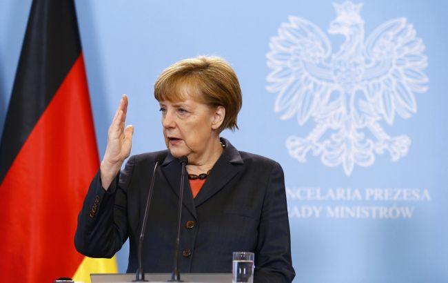 Фото: канцлер Німеччини Ангела Меркель