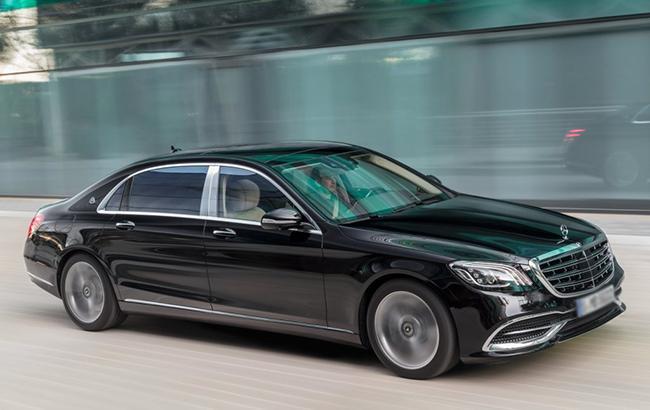 ГУД объявила закупку 2-х бронированных Mercedes по21 млн грн
