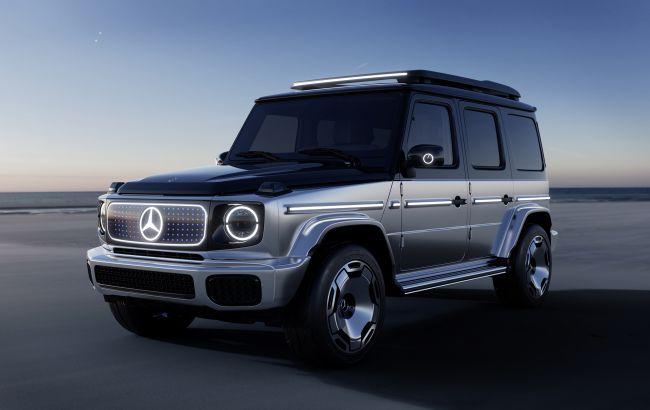 Начало новой эры: представлен электрический Mercedes-Benz Гелендваген