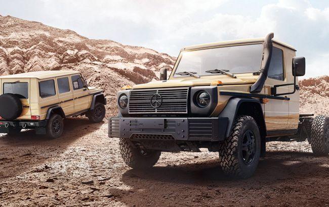 Военный Гелендваген: Mercedes выпустил новый G-Class для армии и силовых структур