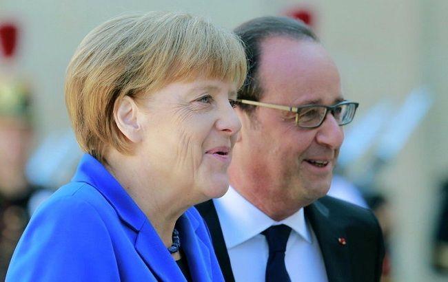 """Фото: Меркель і Олланд зроблять все можливе для якнайшвидшого поновлення """"нормандського формату"""""""