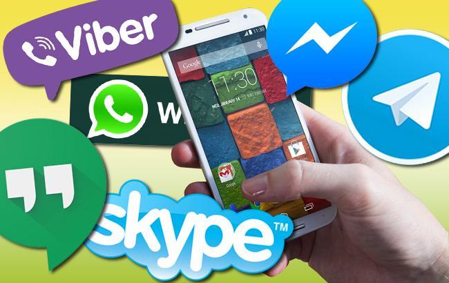 Мобильные операторы задумались над тем, как заставить украинцев платить за использование интернет-мессенджеров