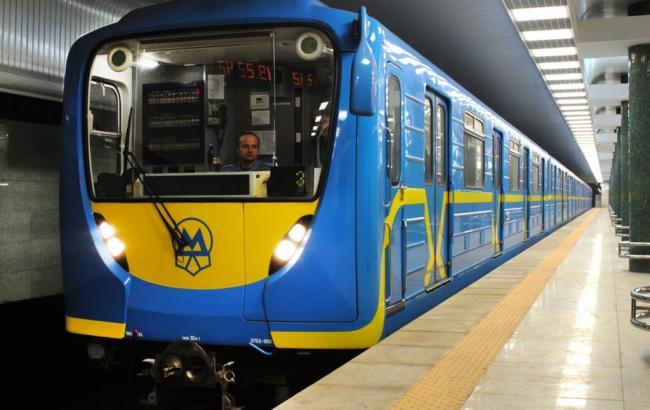 Фото: Поїзд метро (autocentre.ua)