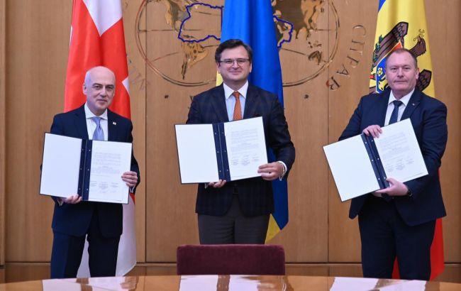 Ассоциированное трио сделало заявление: мы рассчитываем на сотрудничество с ЕС