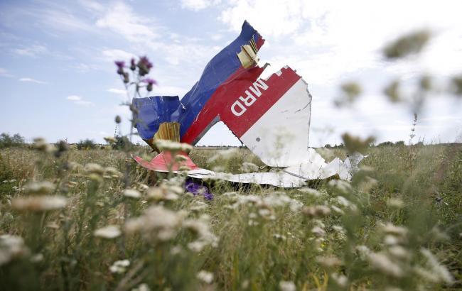 Фото: Обломок самолета МН17 (zeit.de)