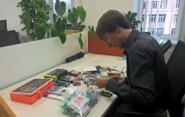 "Фото: IoT-лабораторія ""Майкрософт Україна"" (IGate.com.ua)"