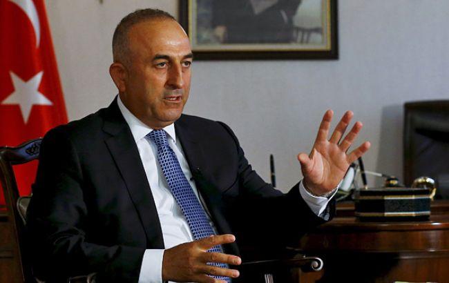 Фото: глава МЗС Туреччини Мевлют Чавушоглу