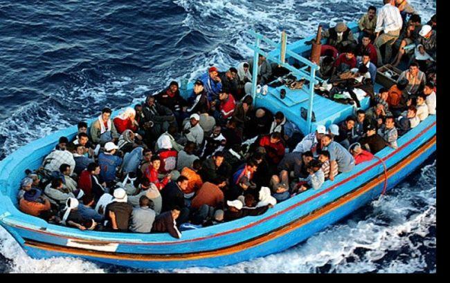 Фото: мигранты передвигались на 18 плавсредствах