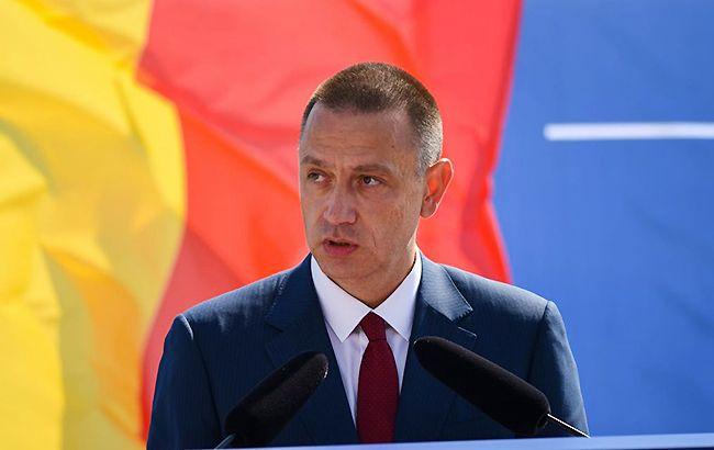 Фото: министр обороны Румынии Михай Фитор (facebook.com/Mihai Fifor/)