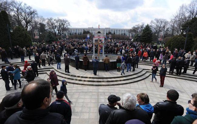 Фото: мітинг у Кишиневі