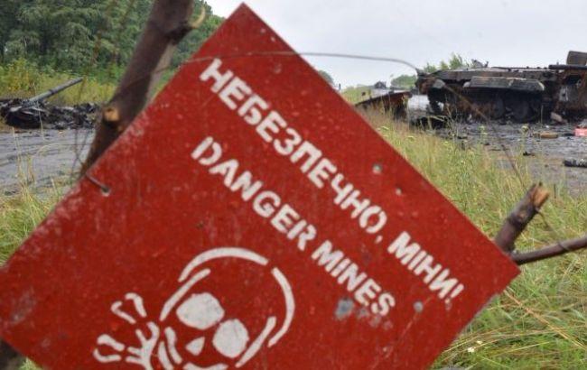 В зоне АТО на мине подорвался мирный житель