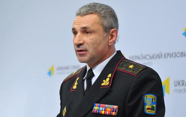Глава ВМС України запропонував обміняти себе на захоплених моряків
