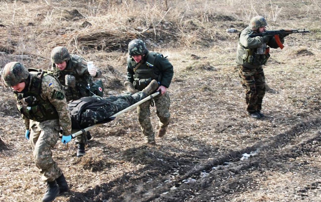 На Донбассе двое военных подорвались на мине