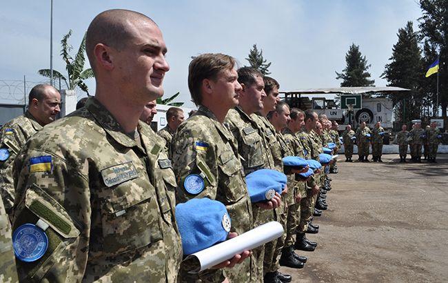 Фото: українські миротворці (mil.gov.ua)