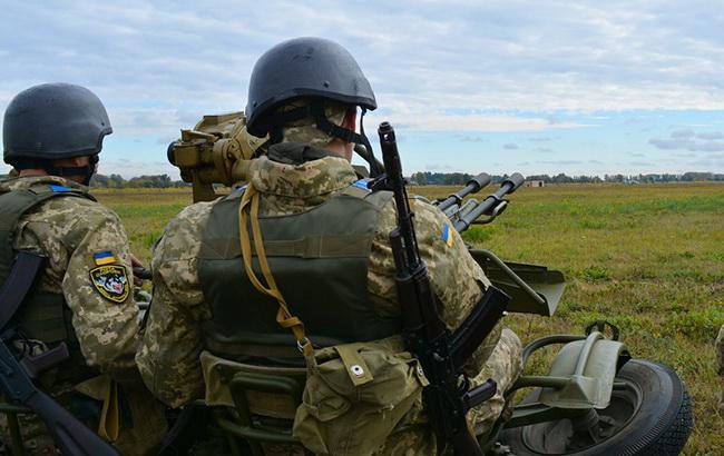 Об'єднані сили провели навчання ППО і ударної авіації