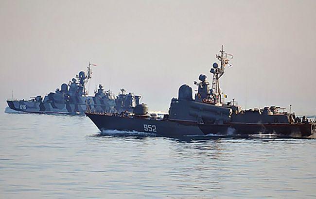 Корабли РФ отрабатывают боевую подготовку в Черном море на фоне учений НАТО